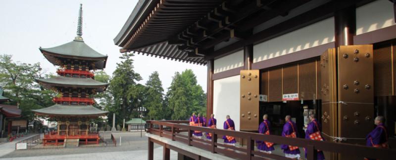 成田山新勝寺にて3泊4日の断食修行に参加してきました
